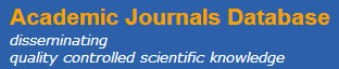 Indexed by Academic Journals Database